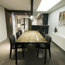 Contemporary Dining Room by MJMDA, Matthew James Mercieca Design Architects
