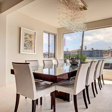 Contemporary Dining Room by Cantoni Designer Sarah Monaghan