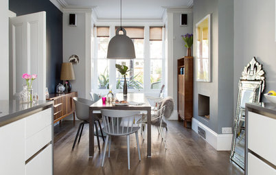 Houzz Tour: A Couple Bring a Family Feel to Their Victorian Home