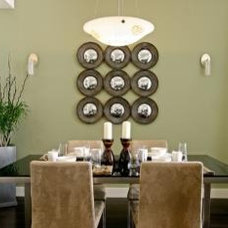 Modern Dining Room by MM DESIGN ASSOCIATES