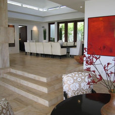 Contemporary Dining Room by Philip Nimmo Design
