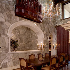 Traditional Dining Room by Cravotta Interiors