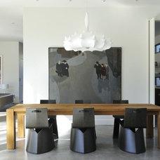 Modern Dining Room by Allen Bianchi