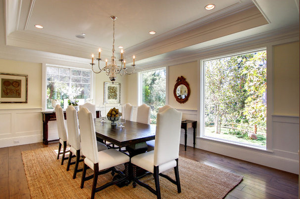Traditional Dining Room by White Picket Fence, Inc