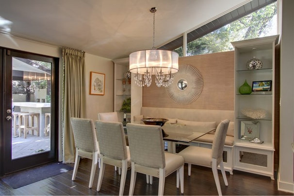 Contemporary Dining Room by Rayna Marz Interiors
