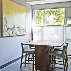 Modern Dining Room by mango design co