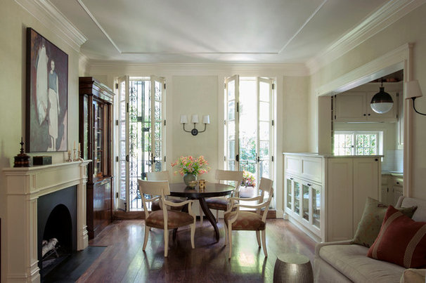 Traditional Dining Room by Christine Markatos Design