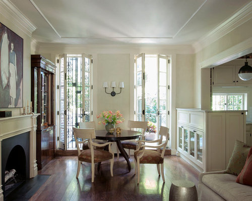 Narrow french doors ideas pictures remodel and decor for Dining room ideas with french doors