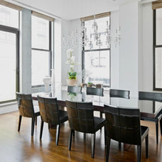 Contemporary Dining Room by Shelley Starr Design