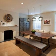 Modern Dining Room by Christine Markatos Design