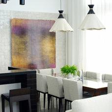 Contemporary Dining Room by D'Cruz Design Group Sydney Interior Designers