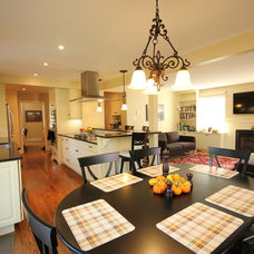 Traditional Dining Room by OakWood Renovation Experts