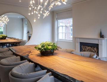 Manor House Renovation - Hallway & Dining Room