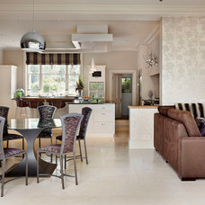 Contemporary Dining Room by Edmondson Interiors
