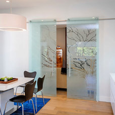 contemporary dining room by Dennis Mayer, Photographer