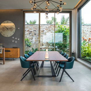 dining room lighting ideas inspiration for midsized contemporary enclosed dining room remodel in hyderabad dining room lighting ideas houzz