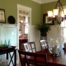 Traditional Dining Room by Peek Design Group