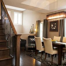 Contemporary Dining Room by Parkview Homes