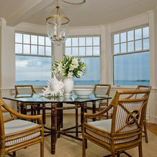 Beach Style Dining Room by Anita Clark Design