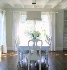 traditional dining room by Molly Frey Design