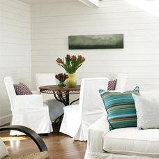 Beach Style Dining Room by Terrat Elms Interior Design