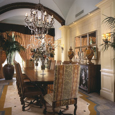 Traditional Dining Room by Marc-Michaels Interior Design