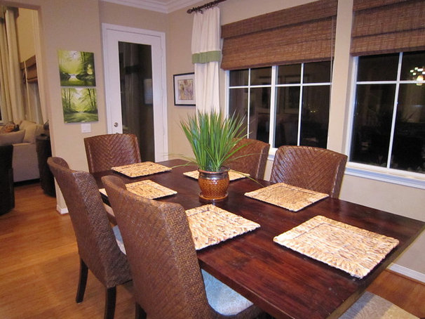 Tropical Dining Room by Marcia Goldman