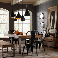 Industrial Dining Room by Marco Polo Imports