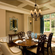 Rustic Dining Room by Avondale Custom Homes