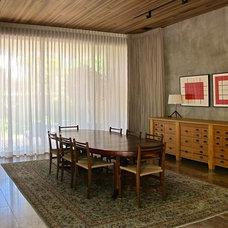 Midcentury Dining Room by Cush Cush Design