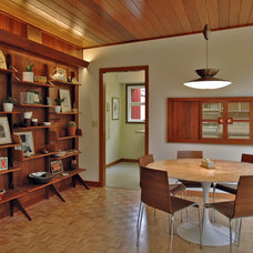 Midcentury Dining Room by Living Room Realty