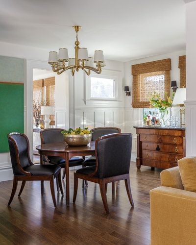 Great Traditional Dining Room by Laura Hunt Design