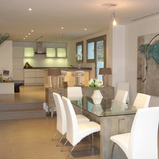 Contemporary Dining Room by Shane Williams