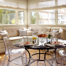 Transitional Dining Room by Artistic Designs for Living, Tineke Triggs