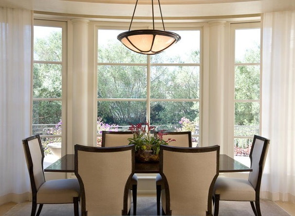 Traditional Dining Room by Sutton Suzuki Architects
