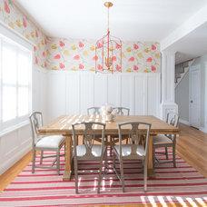 Farmhouse Dining Room by Ejay Interiors