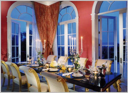 traditional dining room by MARK MORRIS DESIGN GROUP