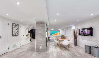 Markham Walkout basement design