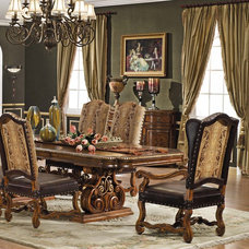 Traditional Dining Room by Savannah Collections
