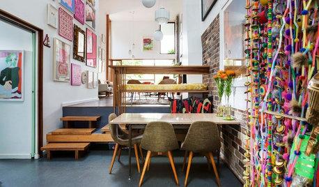 Casas Houzz: Una vivienda colorista e imaginativa en Sídney
