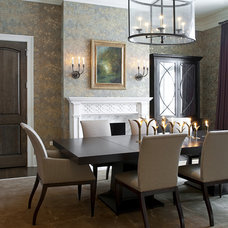 Contemporary Dining Room by Marshall Morgan Erb Design Inc.
