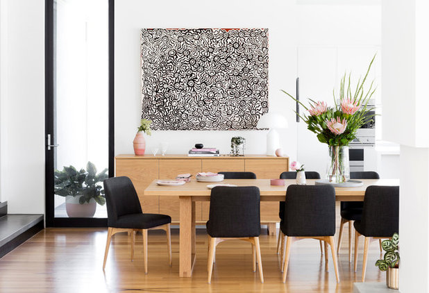 Contemporary Dining Room by Bask Interiors