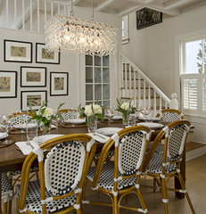 traditional dining room by Schranghamer Design Group