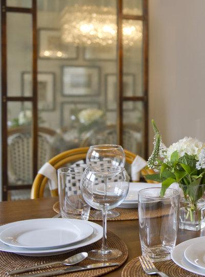 American Traditional Dining Room by Schranghamer Design Group, LLC