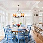 Martha S Vineyard Home Beach Style Living Room