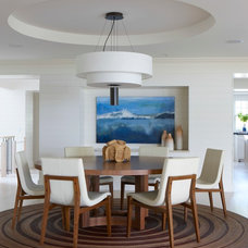 Beach Style Dining Room by Janine Dowling Design Inc.