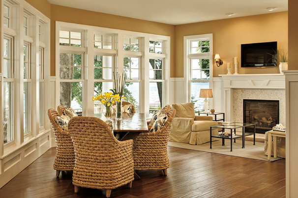 Traditional Dining Room by Marvin Windows and Doors