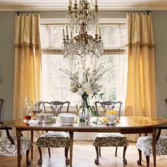 traditional dining room by Mary Evelyn Interiors