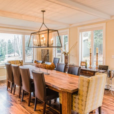 Contemporary Dining Room by Urban Rustic Living