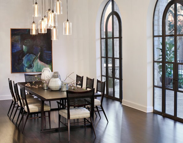 Contemporary Dining Room by Soledad Builders, LLC